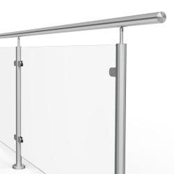 Balustrada model DAYTONA MGKI kwasoodporna, wysokość 101 cm