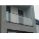 Balustrada model PORTLAND MGN2L nierdzewna, wysokość 101 cm, 2 x Ø16 mm