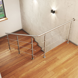 Zestaw montażowy na schody model ATLANTA MGN3I, 3 x Ø12 mm