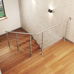Zestaw montażowy na schody model ATLANTA MGN5S, 5 x Ø12 mm