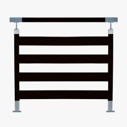 Balustrada model TORONTO malowana proszkowo na kolor biały