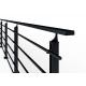 Balustrada model BOSTON MGC5I aluminiowa, wys. 101 cm, 5 x 14 x 14 mm, RAL 9005 czarna