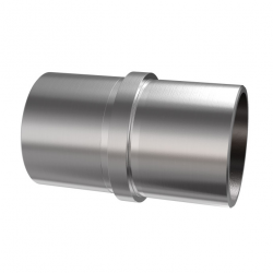 Łącznik na rurę, Ø42,4 x 2,0 mm - stal nierdzewna