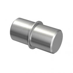 Łącznik na rurkę, Ø12,0 x 1,0 mm - stal nierdzewna