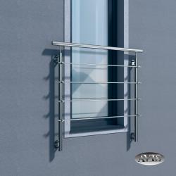 Balkon francuski ZULU II, AISI 304, szlifowany