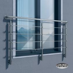 Balkon francuski ZULU III, AISI 304, szlifowany