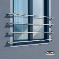 Balkon francuski BRAVO III, AISI 304, szlifowany