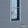 Balkon francuski SOLO II, AISI 304, szlifowany