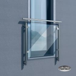 Balkon francuski KATANA II, AISI 304, szlifowany
