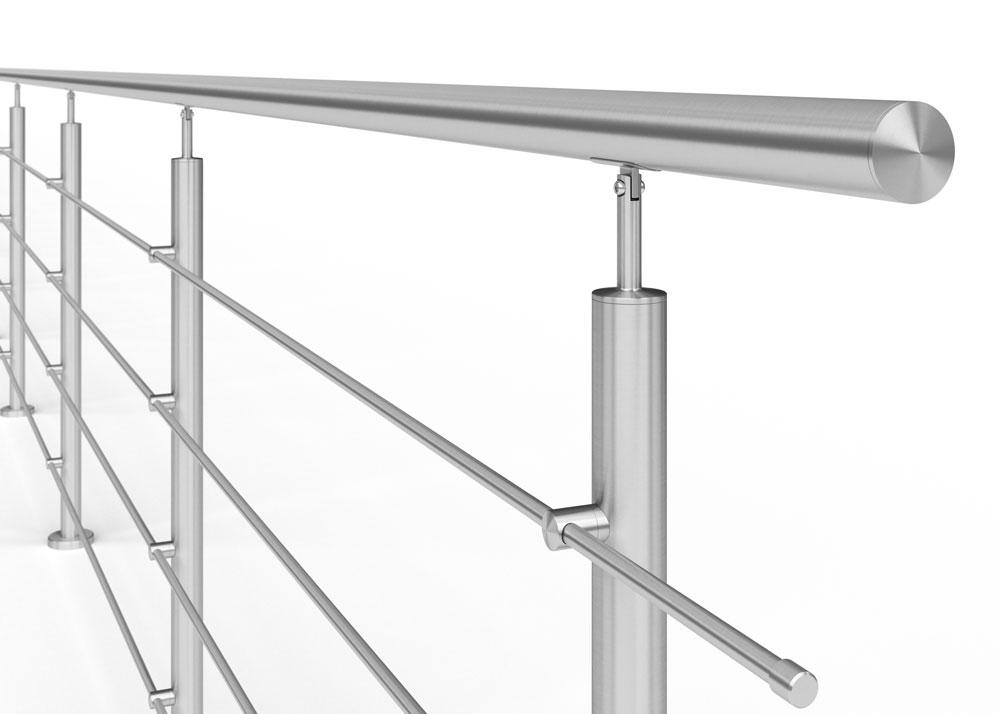 Dodatkowe Gotowe systemy balustrad   Balustrady z nierdzewki - AVIS ED11