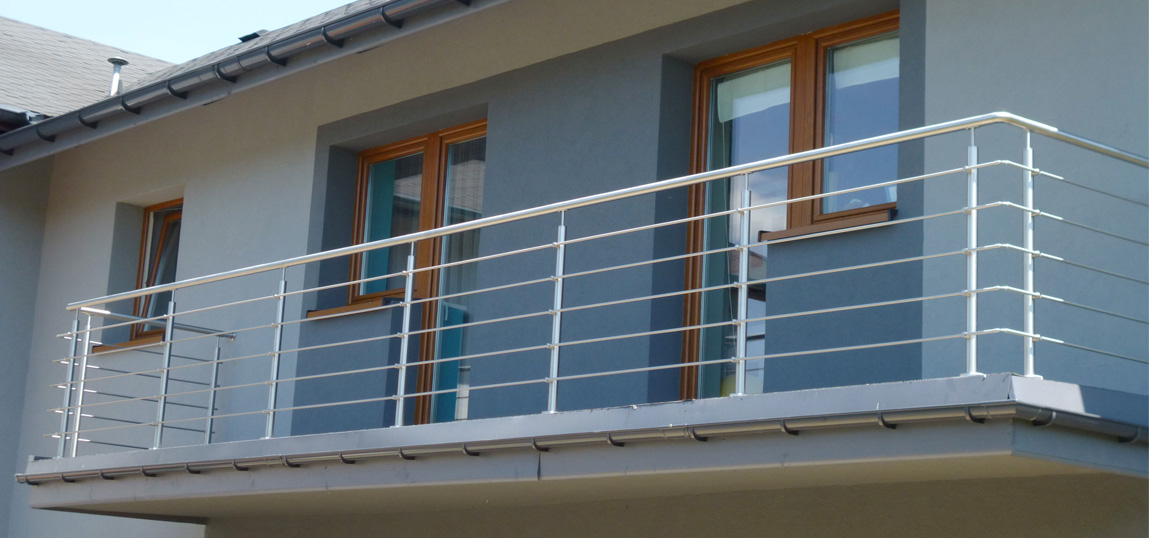 Balustrada nierdzewna 1